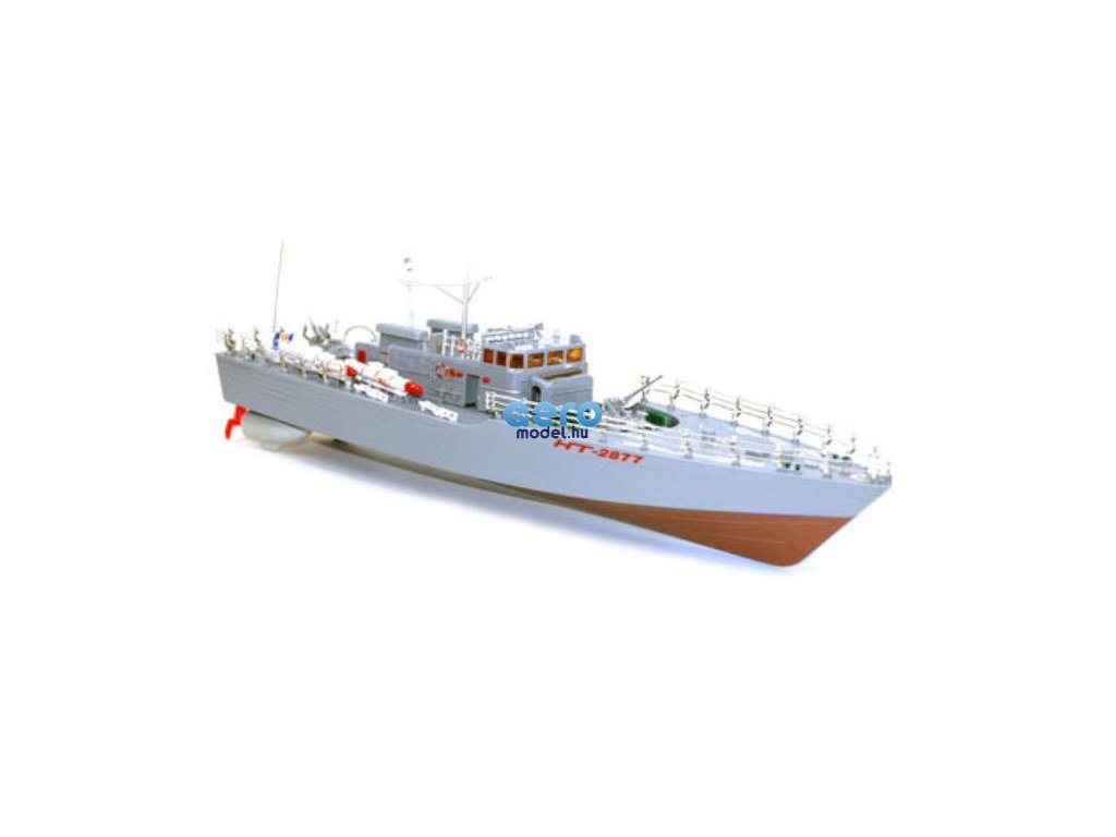 HT: Torpedóhajó 1: 115 2,4 GHz RTR - piros