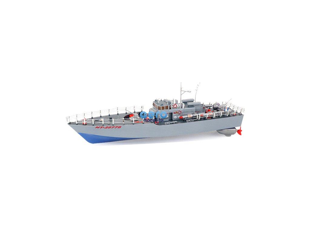 HT: Torpedóhajó 1: 115 2,4 GHz RTR - kék