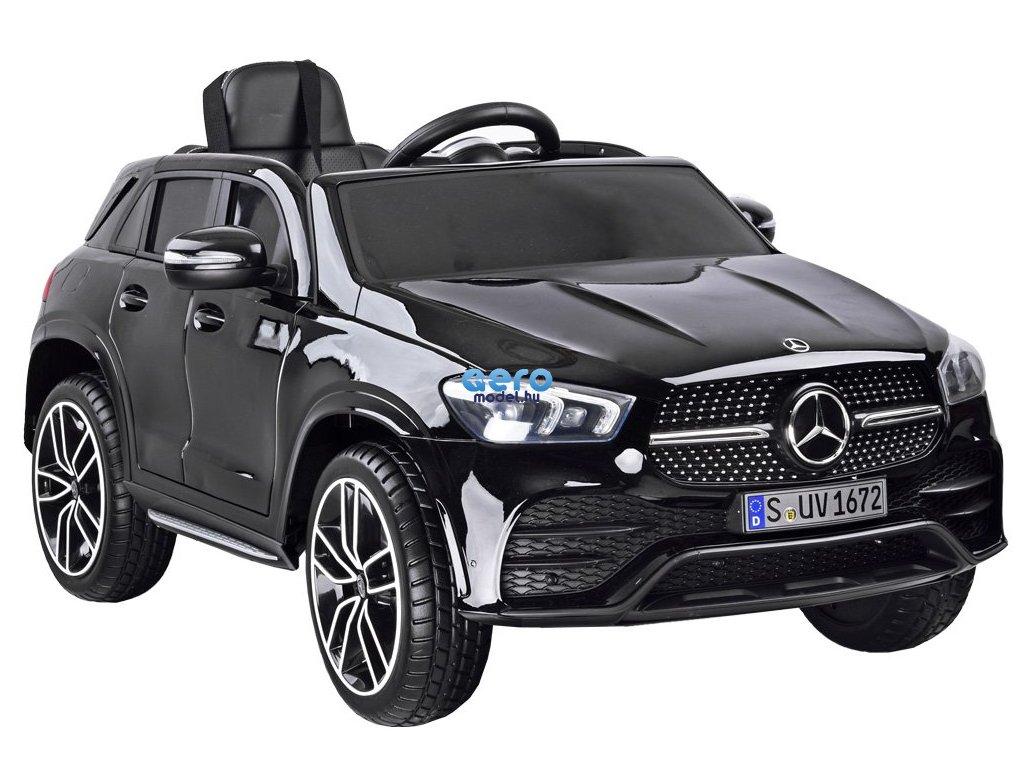 MERCEDES GLE 450 elektromos autó, távirányítóval - fekete