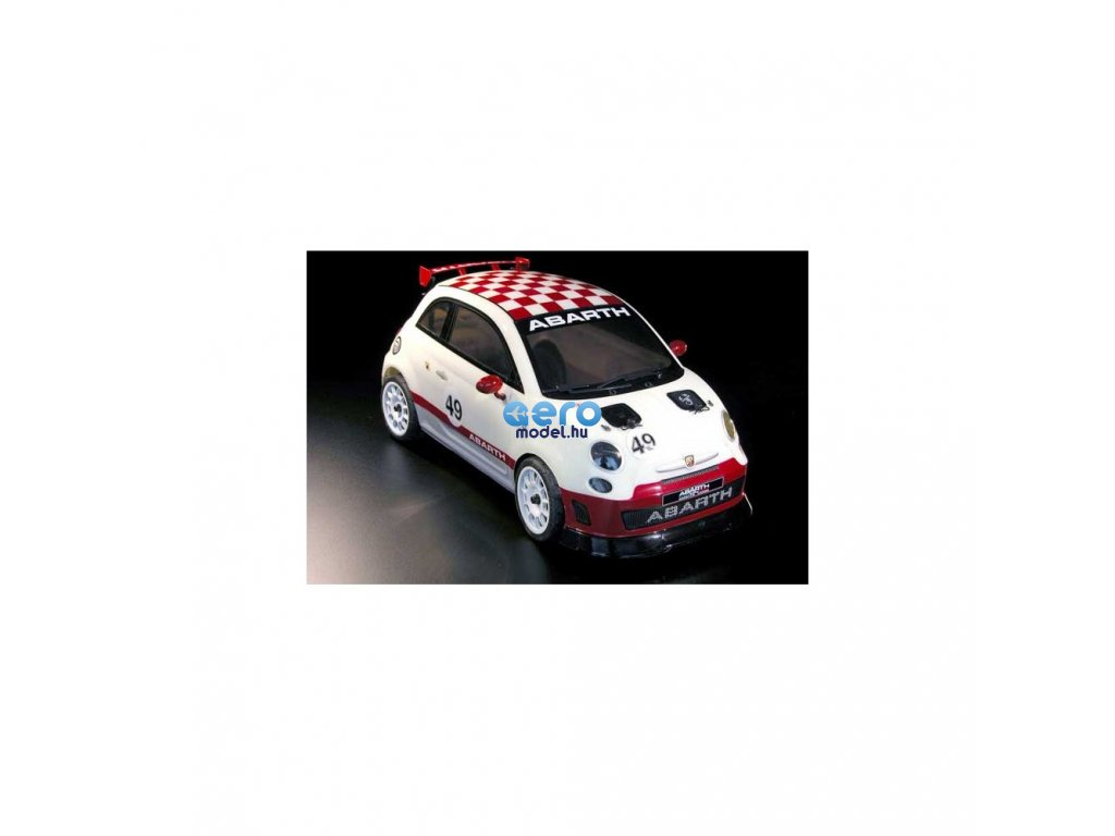 FIAT 500 Rally ABARTH 4WD 1:9 - festett karosszériával, 100% RTR