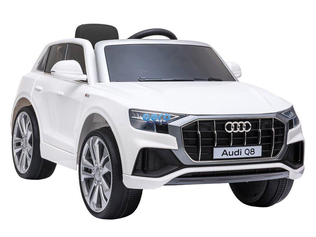 Elektromos autó gyerekeknek - Audi Q8 fehér