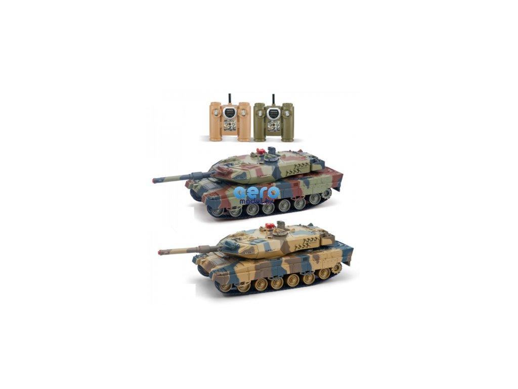 Tank készlet - 2x tank Leopard 2A6