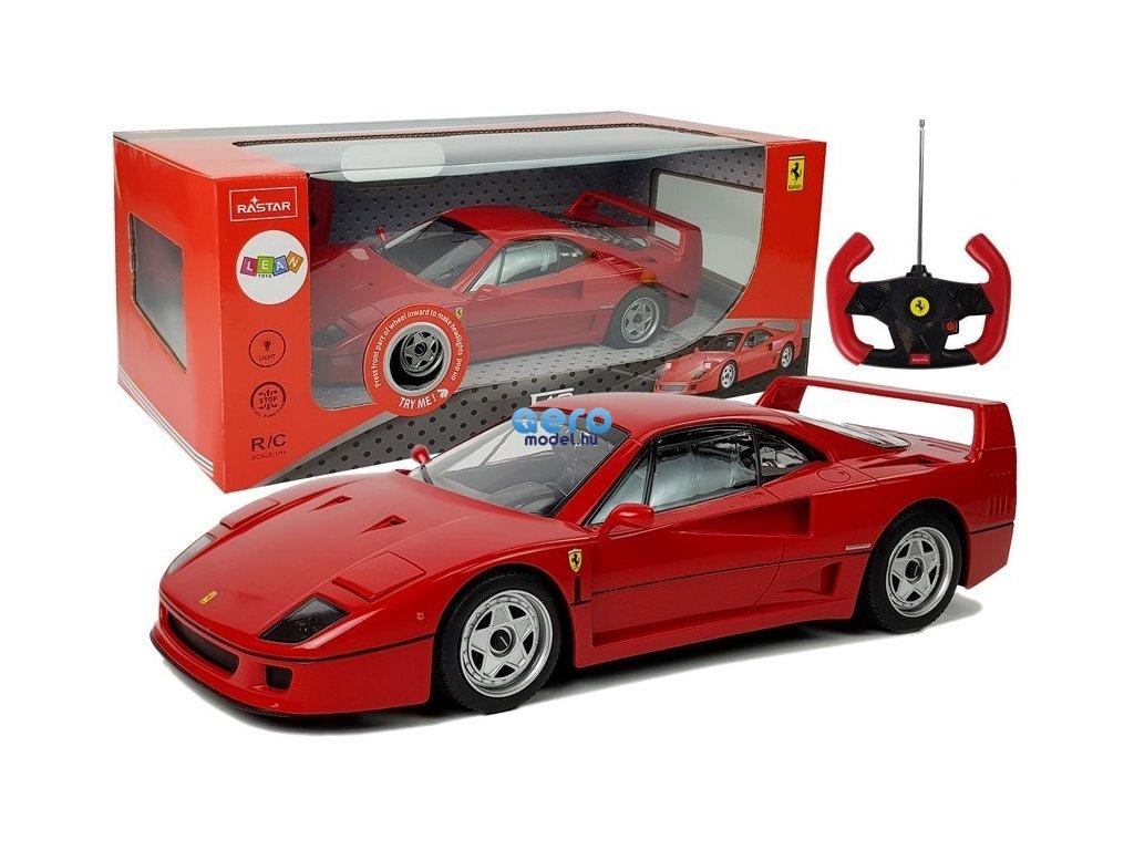 eng pl Radio Controlled Ferrari F40 1 14 Red 27 Mhz 7532 1