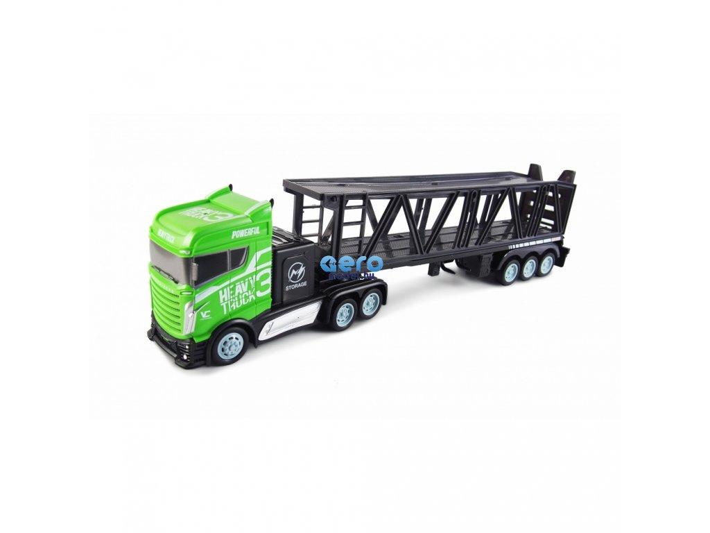 kamion s autoprepravnikem 2wd 1 bohate prislusenstvi semafor radar 3 auticka rtr
