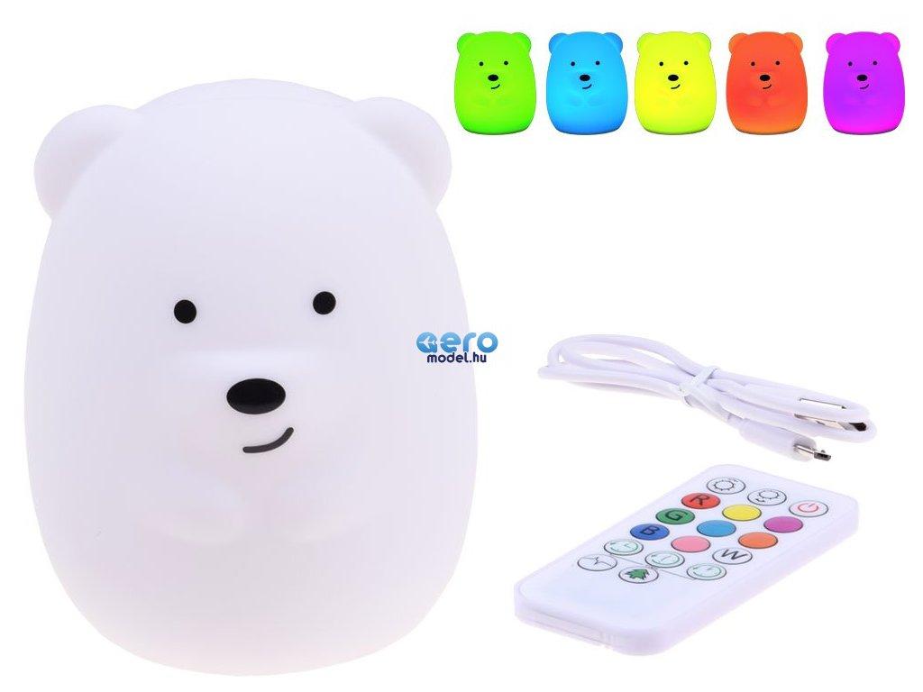 teddy bear hordozhato ejjeli lampa gyerekeknek