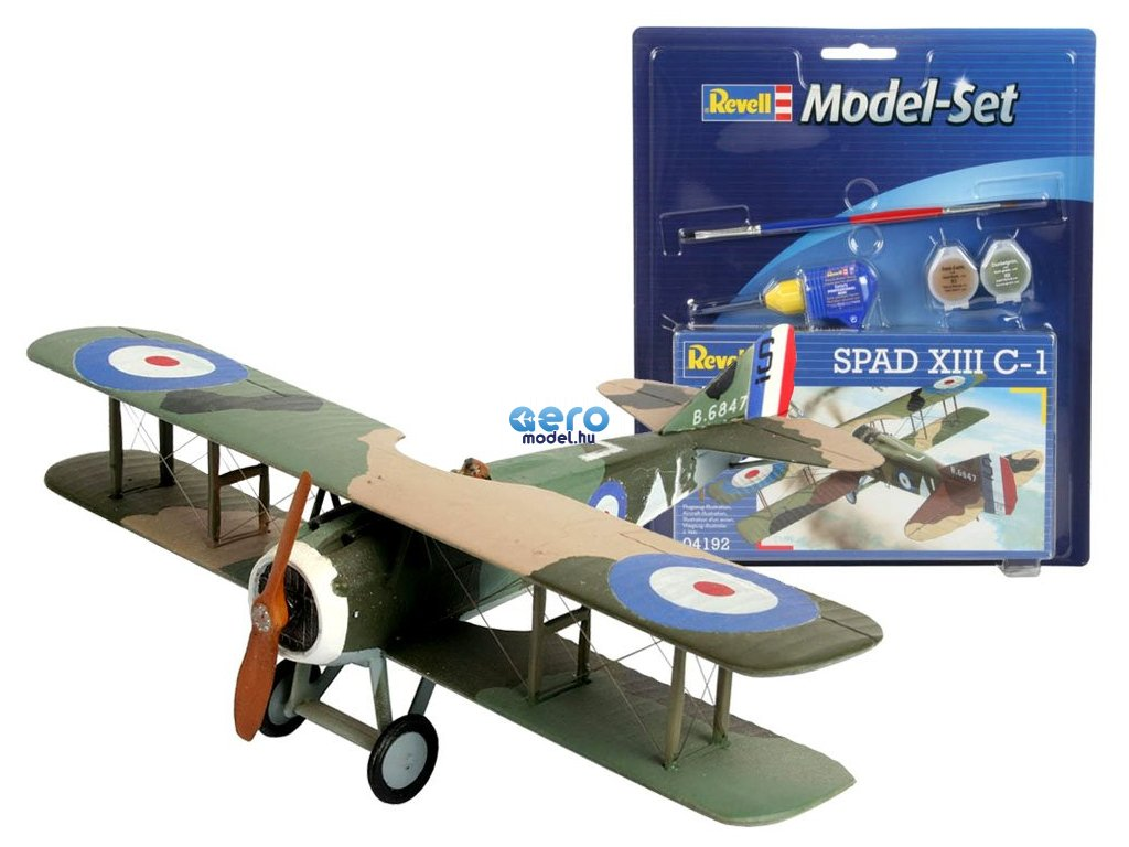 eng pl Revell Aircraft model SPAD XIII C 1 1 72 RV0016 15866 1