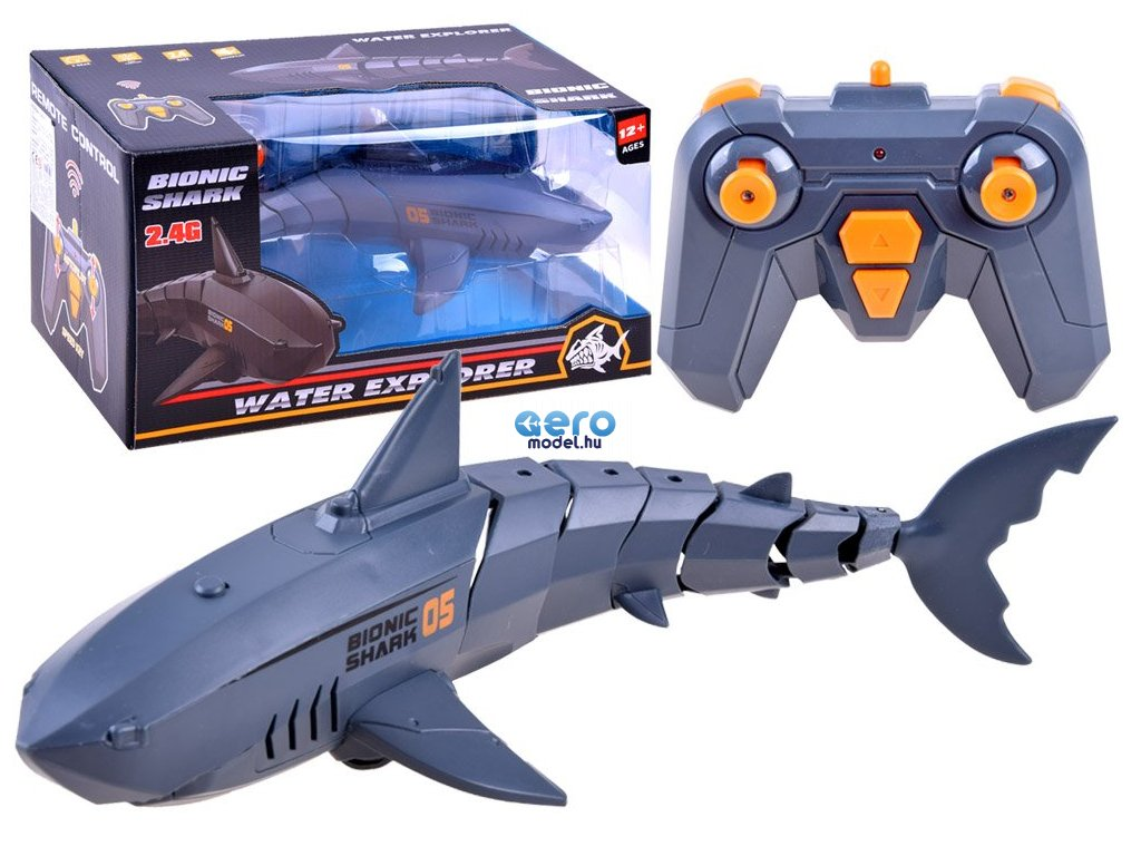 eng pl Remote controlled water shark RC0534 15511 1