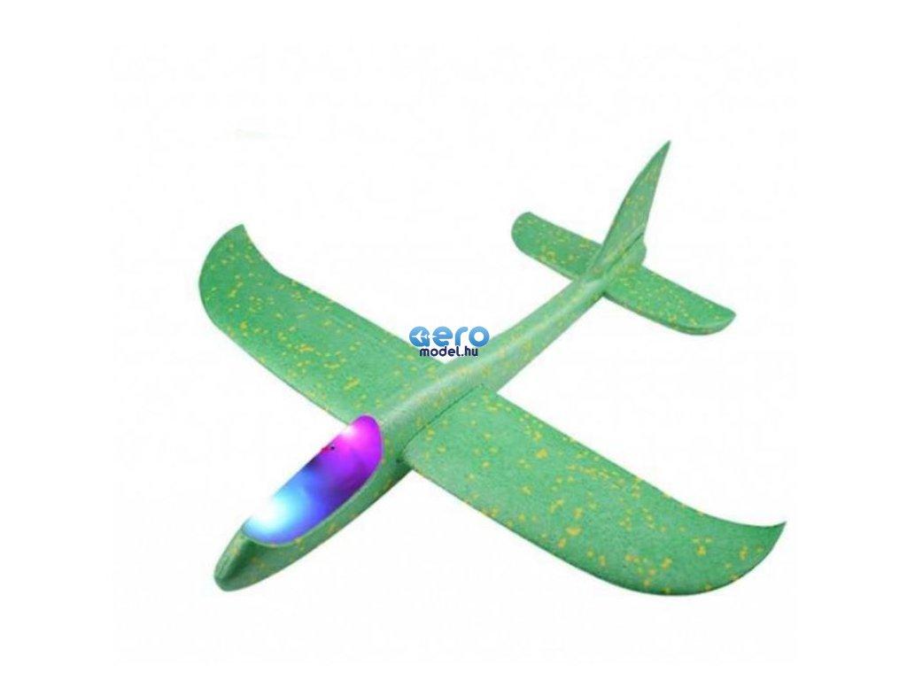 Vitorlázó két repülési móddal - zold