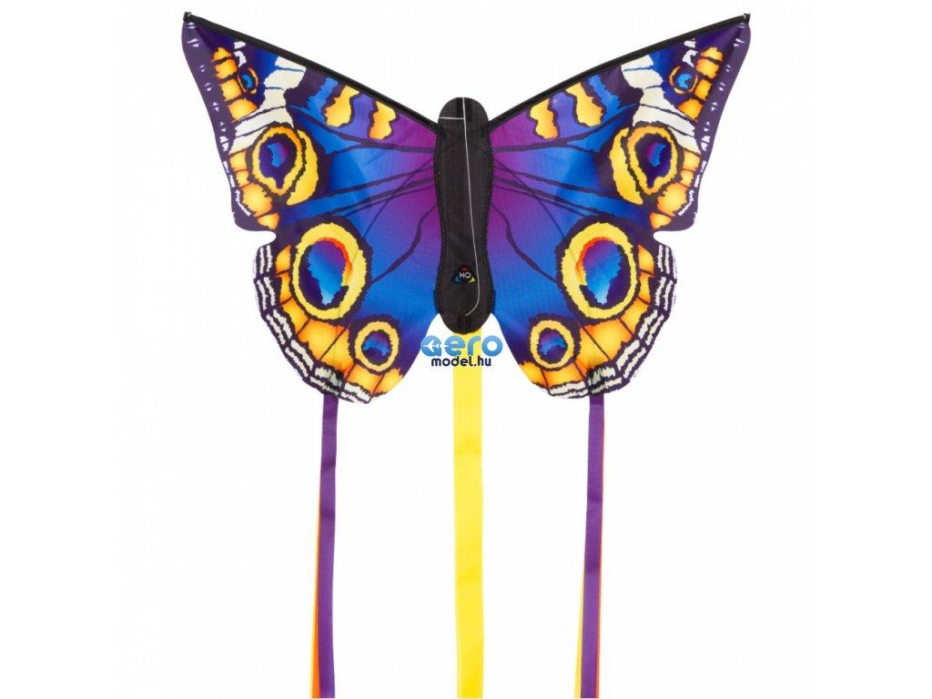 Pillangó lila - sárga 130x80 cm