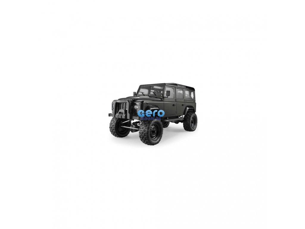 Land Rover Defender D110 Wagon 1: 8, engedélyezett, arányos, LED, RTR
