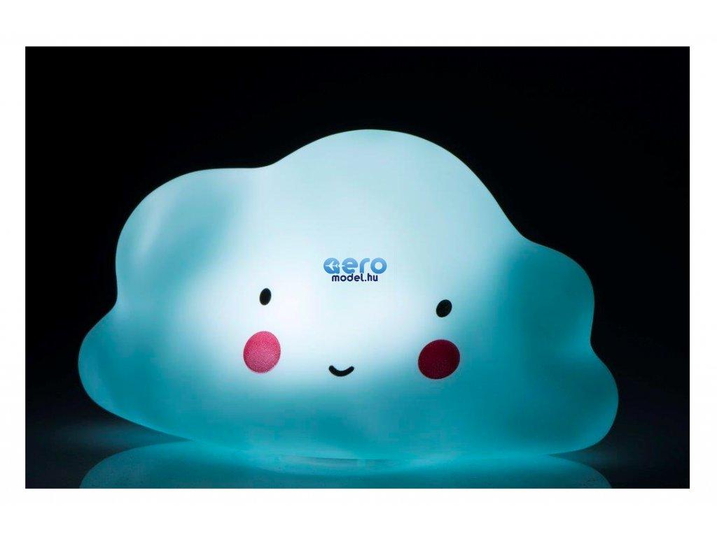 Éjszakai / éjjeli hordozható LED lámpa - felhő