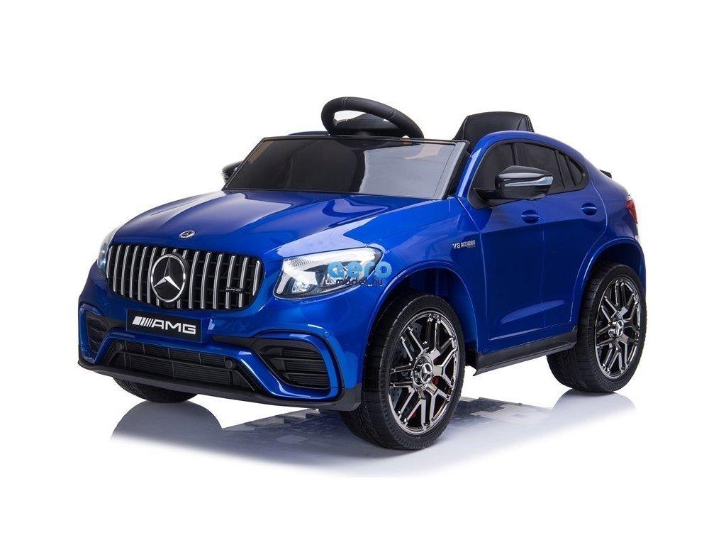 Elektromos játékautó gyerekeknek Mercedes 4x4 kék