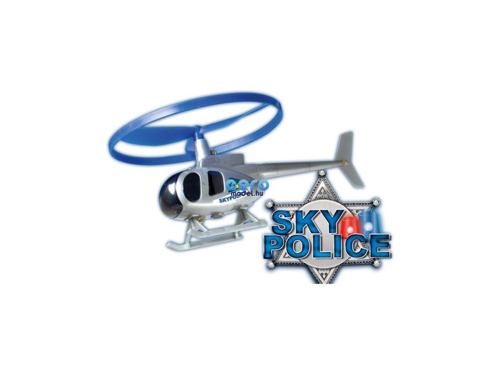 Kilövő rendőr helikopter