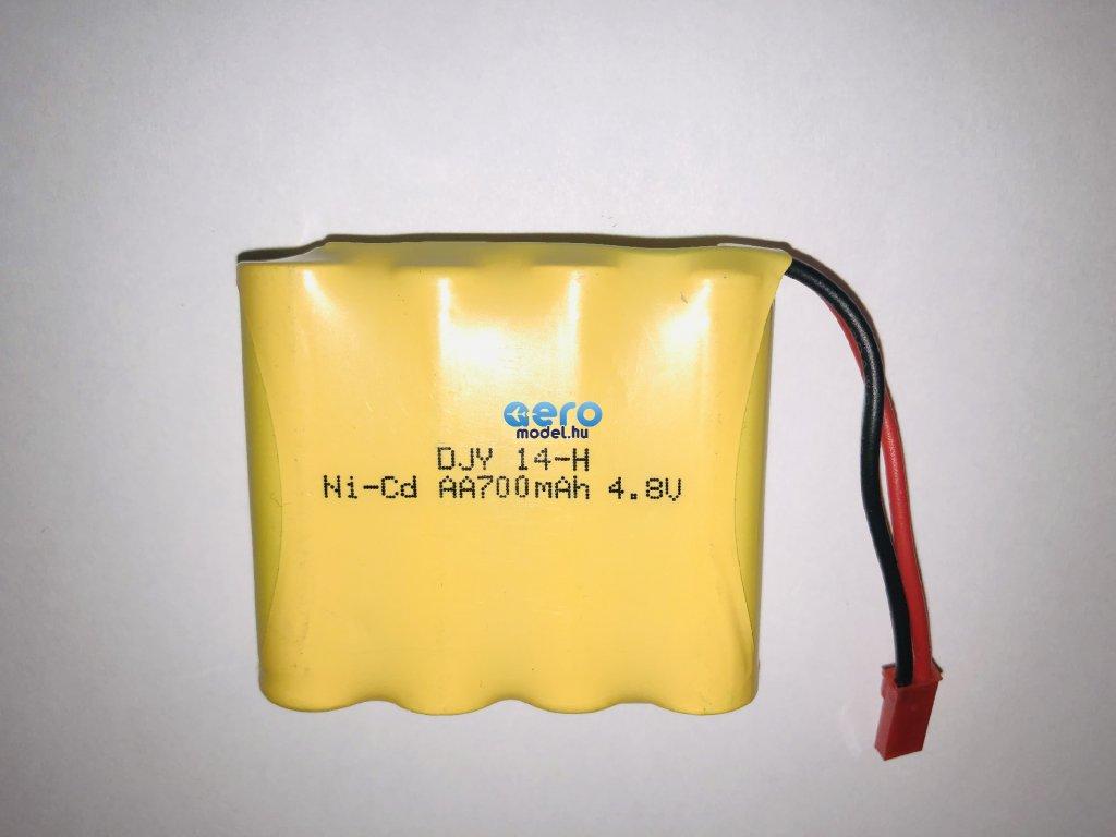 Pótakkumulátor 700mAh 7,2 V