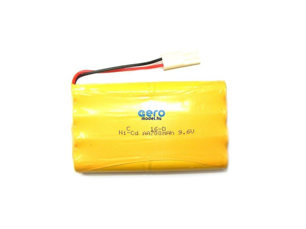 HB akkumulátor 700mAh 9.6V Ni-Cd Plug Mini Tamiya / HB-P100