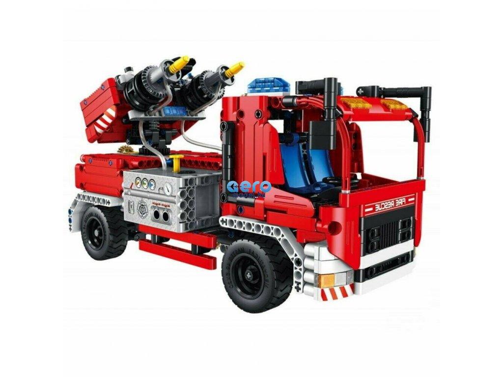 Mechanikus mester tűzoltók 2in1 készlet, 2 funkcionális fecskendő