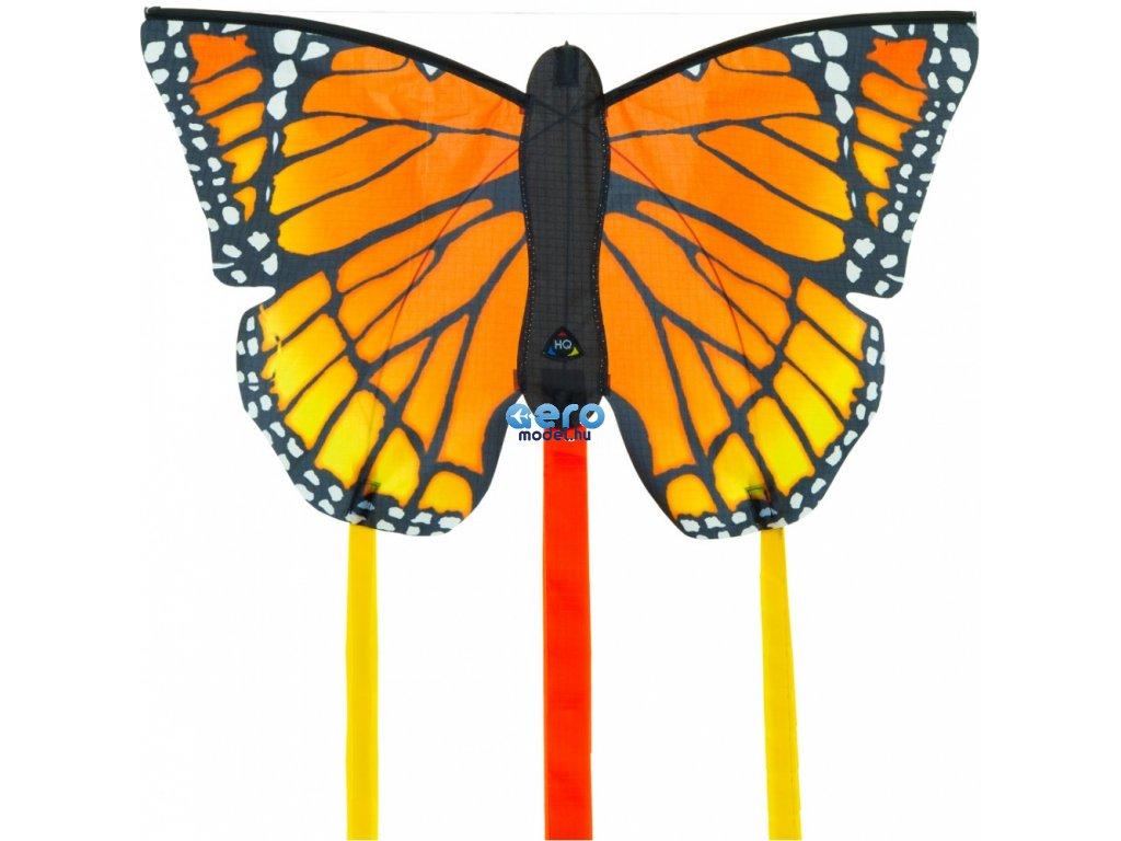 Sárkány pillangó narancs 52 cm