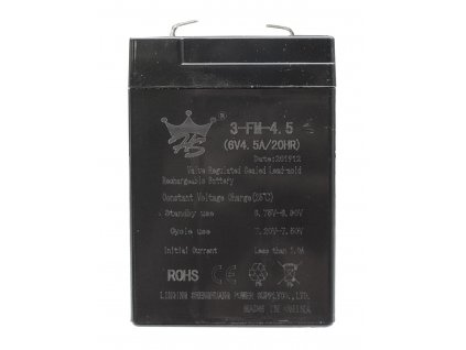 Gél akkumulátor 6V 4,5Ah