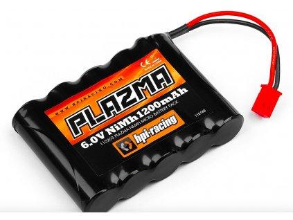 HPI Plazma Ni-MH 6,0V 1200mAh pro Micro RS4 akkumulátor