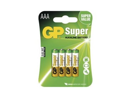 GP super 1,5V AA( 4db)