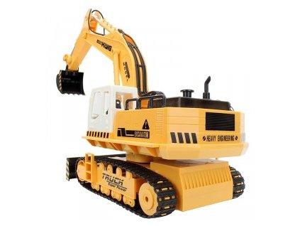 H-Toys : Traktorbáger buldózer 11CH 27MHz RTR