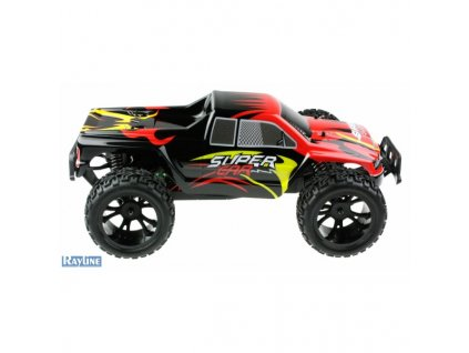 rc auto monster truck rayline funrace 110 2wd