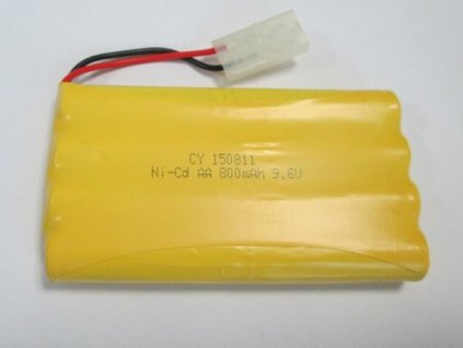 Pót akkumulátor 9,6V 800mAh NiCd Tamiya Land Buster 4WD12