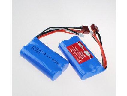 Free shipping 7 4V 1500mAh Lipo Battery wltoys 12423 wltoys 12428 rc car For Wltoys 12423