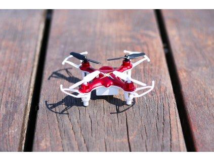 RC drón Syma X12 Nano 2,4GHz, piros