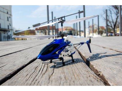 RC helikopter Syma S107, kék