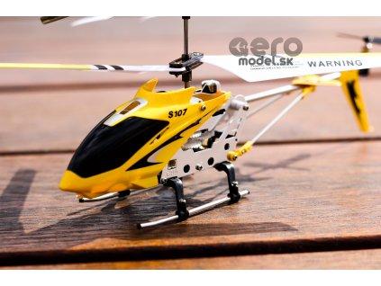 RC helikopter Syma S107, sárga