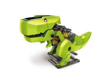 Szolár Robot 4 az 1 -ben napelemes oktató modell építőkészlet