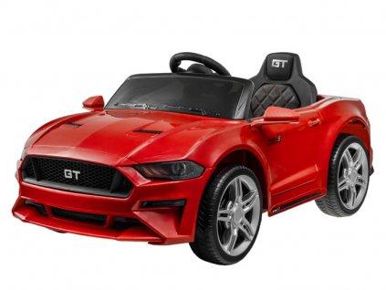 Elektromos autó Ford Mustang GT piros