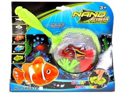 eng pl NANO FISH robo fish electronic landing ZA1529 11521 4