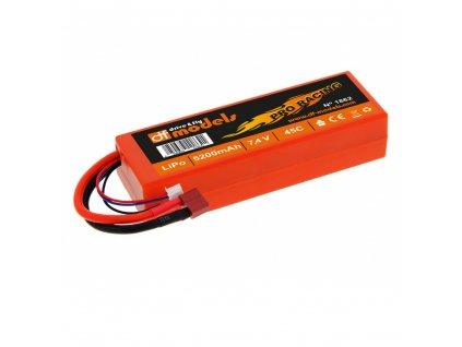 Akkumulátor LiPo 7,4 V 5200mAh Pro Racing T-dean