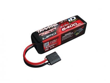 Traxxas LiPo akkumulátor 11.1V 6400mAh 25C iD