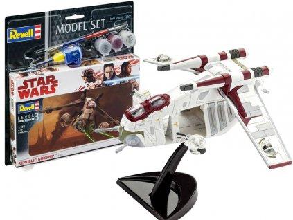 eng pl Revell Model Star Wars Republic Gunship RV0015 15854 1