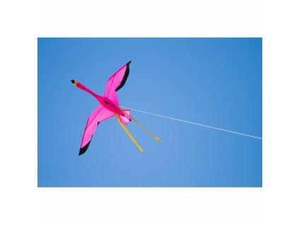 Flamingo 3D sárkány - 135x100 cm