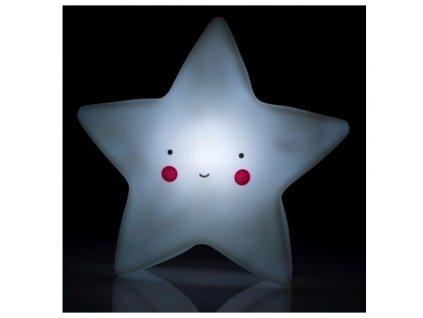 Éjszakai / éjjeli hordozható LED lámpa - csillag