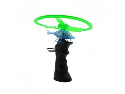 Flying TOP, helikopter LED világítással és hordozórakétával