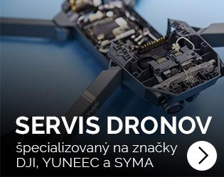 Servis dronov DJI a Yuneec