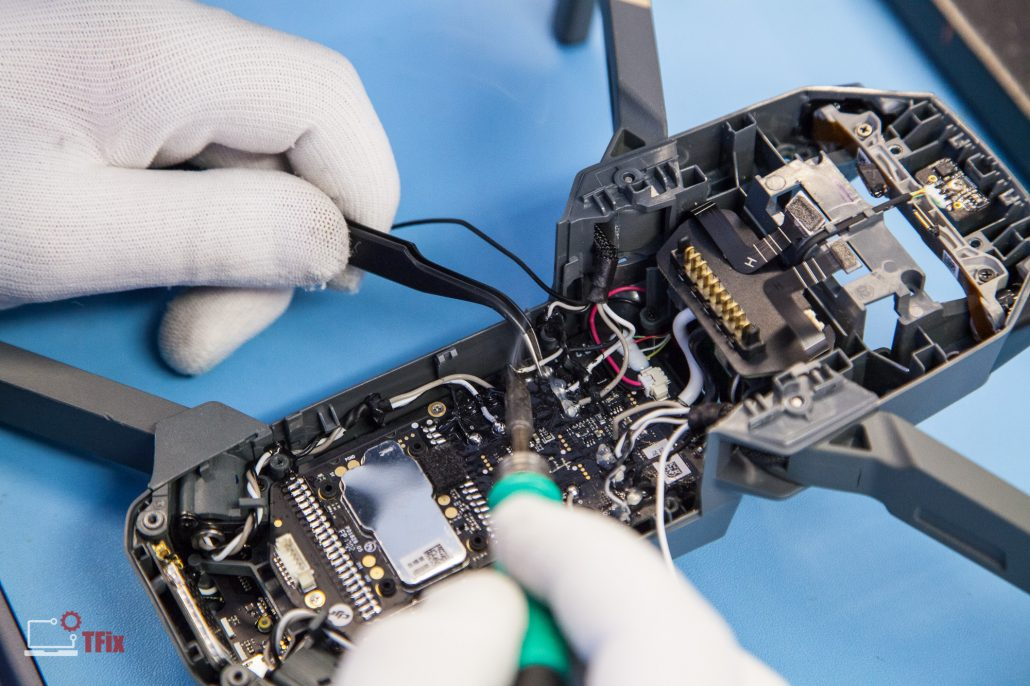 DJI-Mavic-Pro-Front-Motor-Arms-Replacement-London-UK-Drone-Repair-3-1030x686
