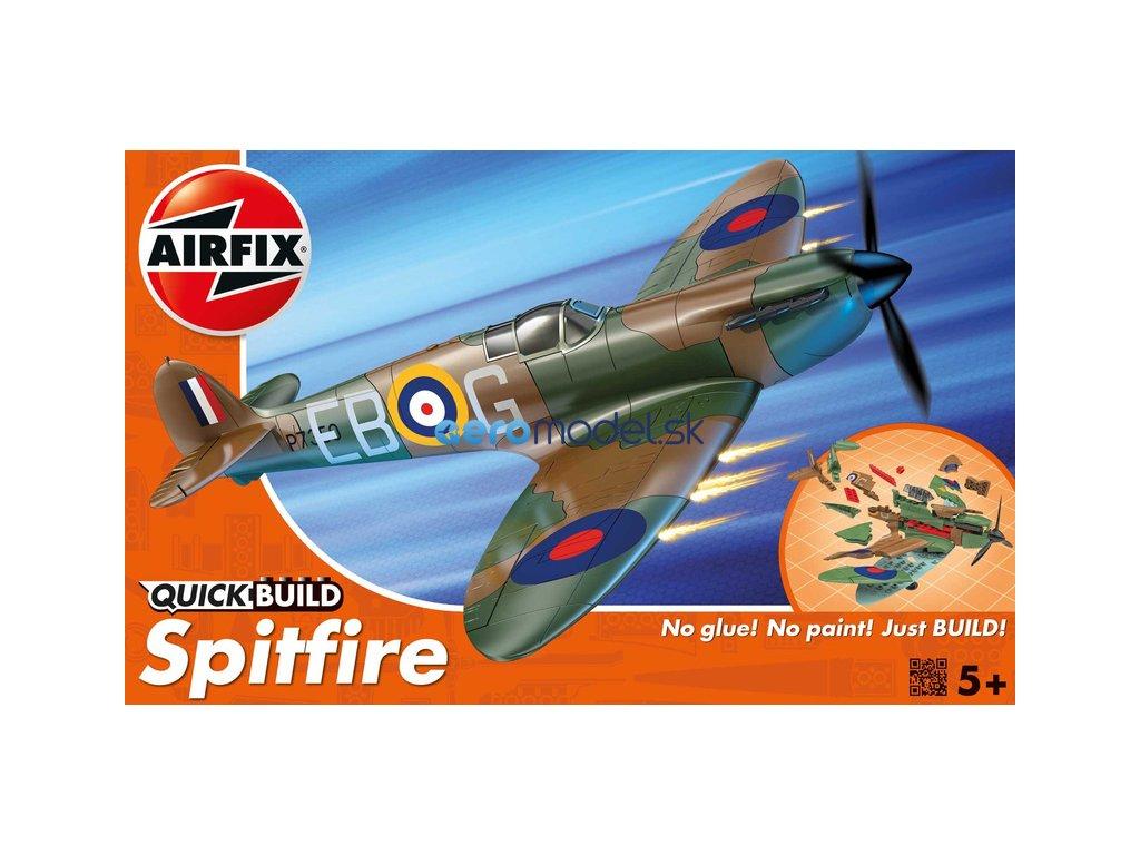 Airfix Quick Build Supermarine Spitfire AF-J6000