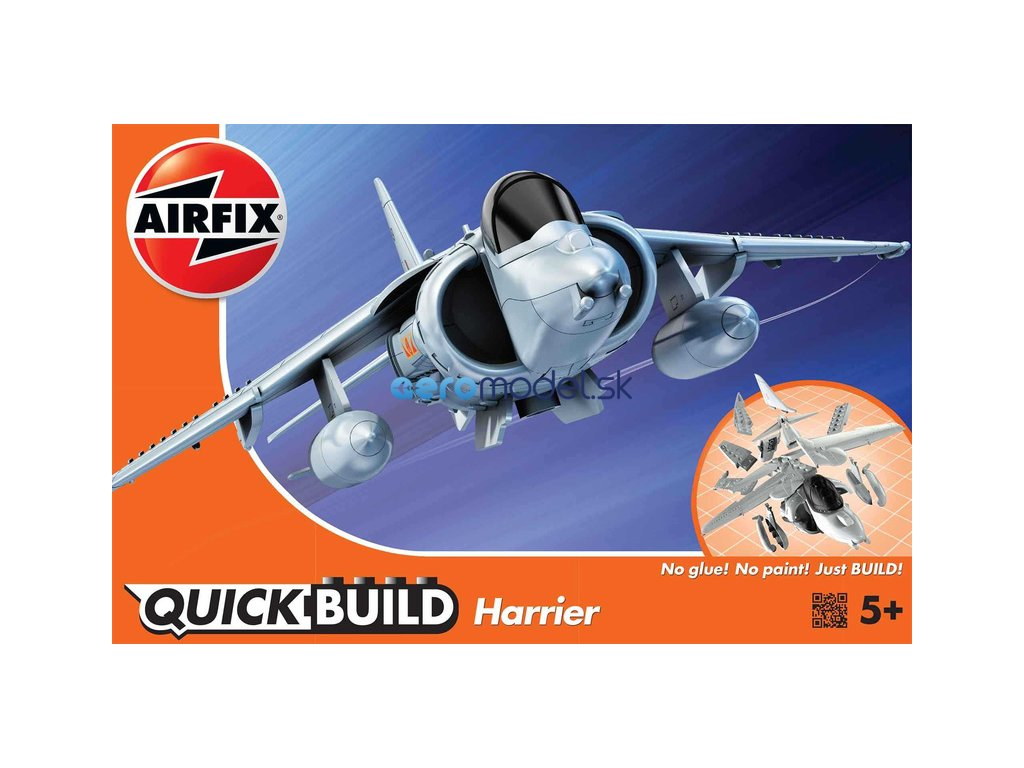 Airfix Quick Build Harrier AF-J6009