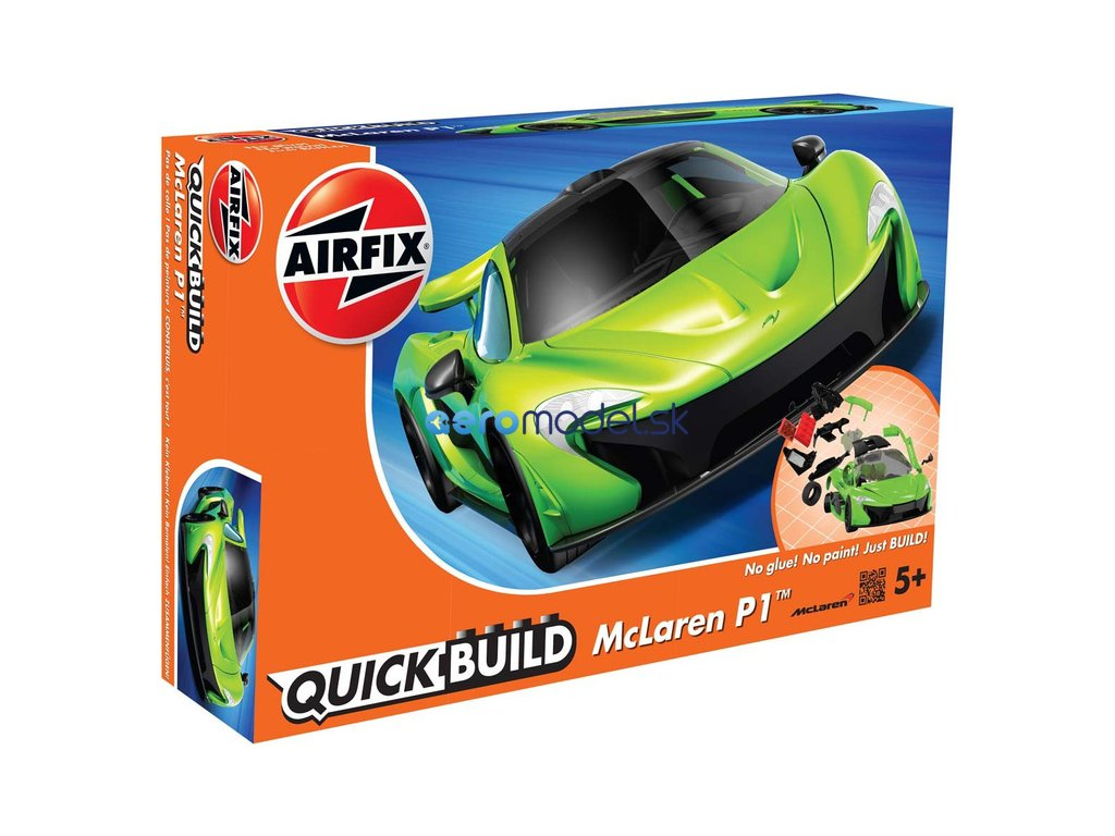 Airfix Quick Build McLaren P1 - zelená AF-J6021