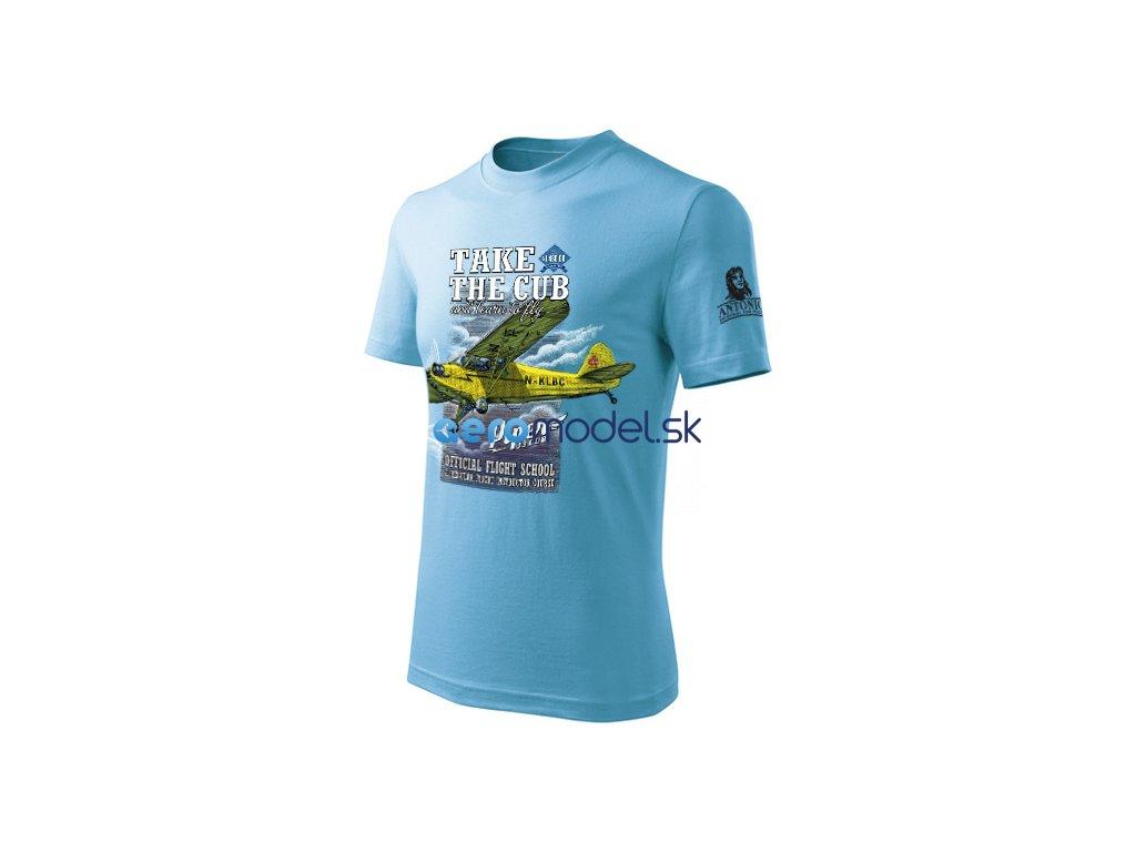 Antonio pánské tričko Piper J-3 Cub ANT0110201515