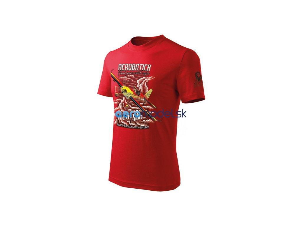 Antonio pánské tričko Extra 300 červené ANT0110700716