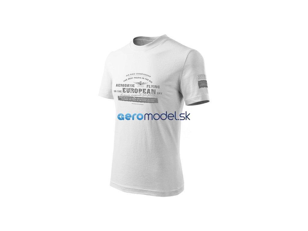 Antonio pánské tričko Aerobatica bílé ANT0110800017