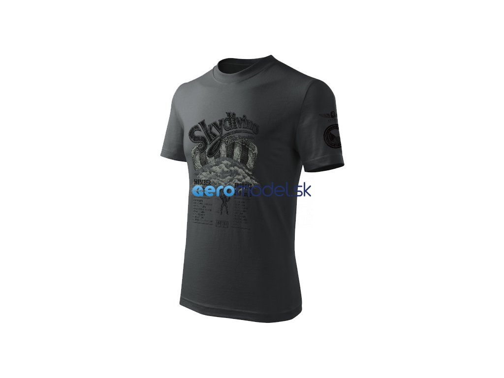 Antonio pánské tričko Skydiving CZ ANT0111200614