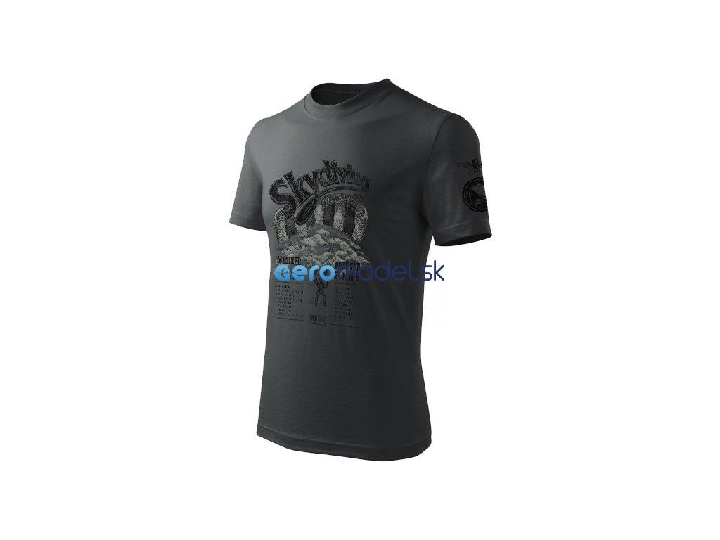 Antonio pánské tričko Skydiving CZ ANT0111200615